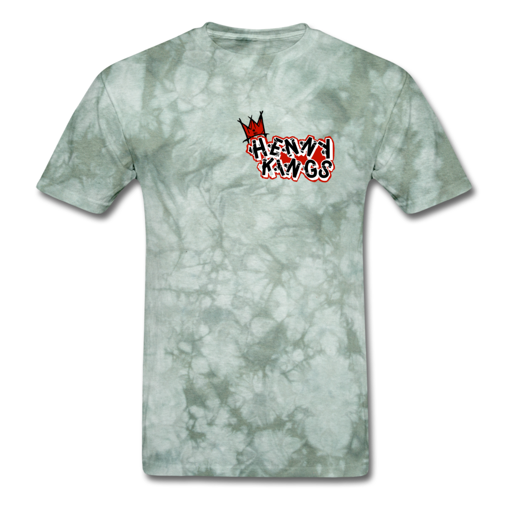 Henny Kings Graffiti T-Shirt - military green tie dye