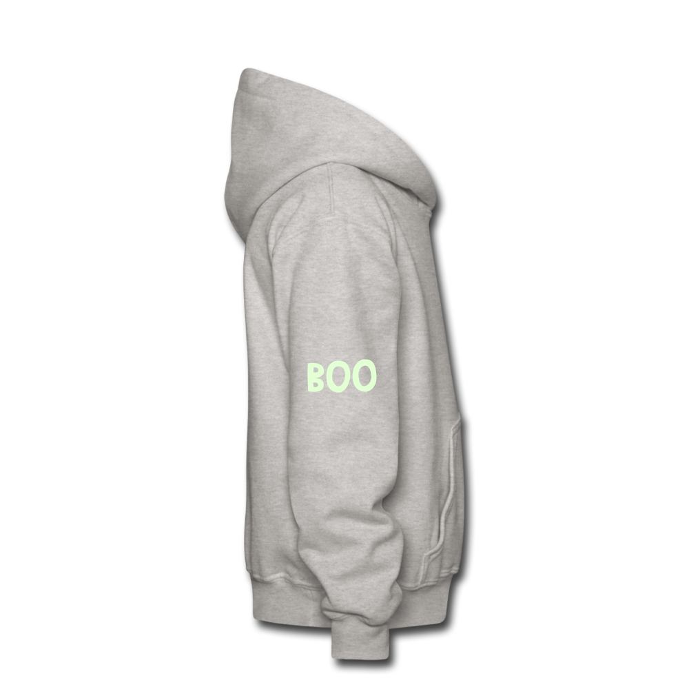 Kids halloween hoodie - heather gray
