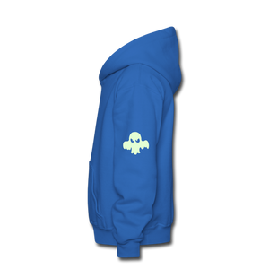 Kids halloween hoodie - royal blue