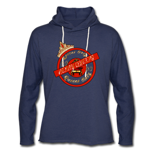 Queens Only Hoodie - heather navy