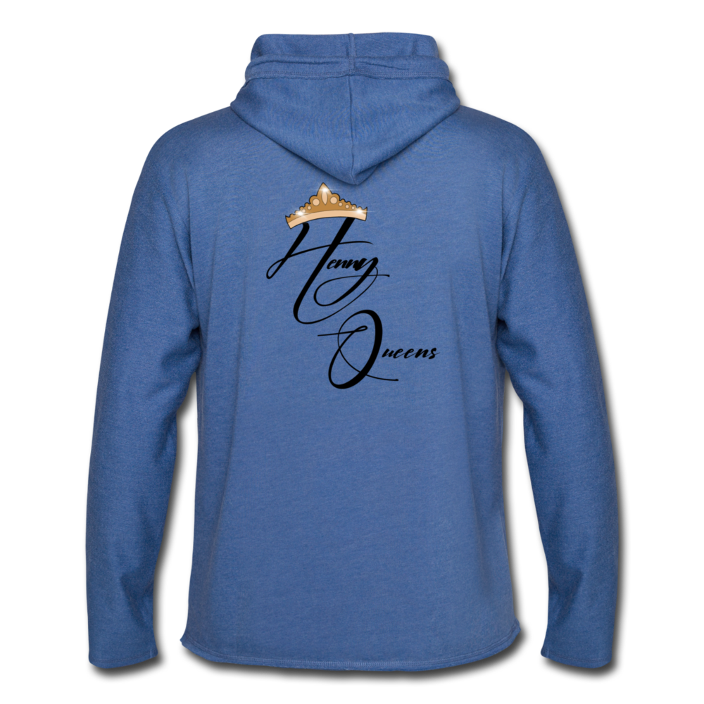 Queens Only Hoodie - heather Blue