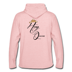Queens Only Hoodie - cream heather pink