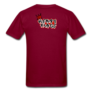 Henny King's C.T.B T-Shirt - burgundy
