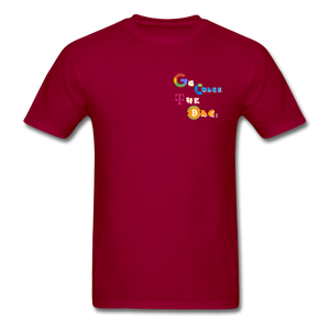 Henny King's C.T.B T-Shirt - dark red