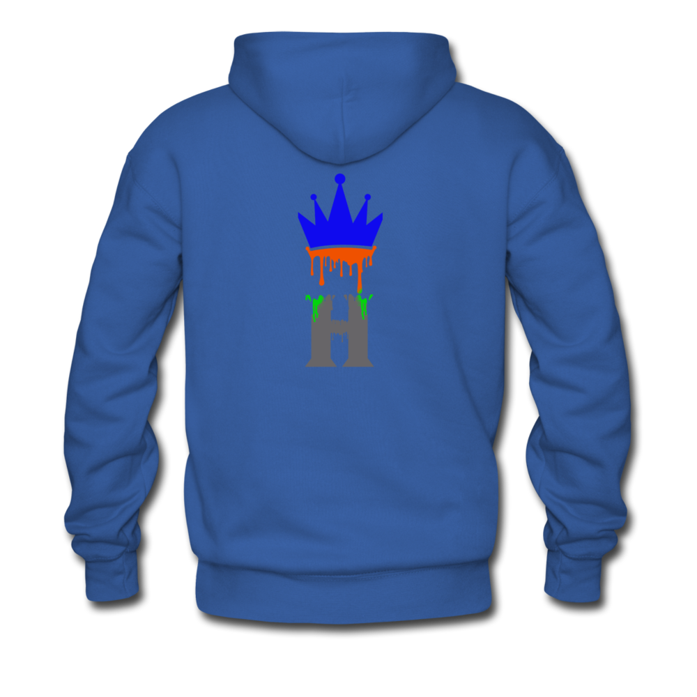 Splash Fit Hoodie - royal blue