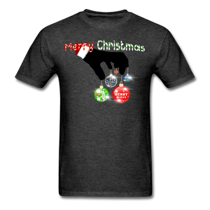 HK Christmas T-shirt - heather black