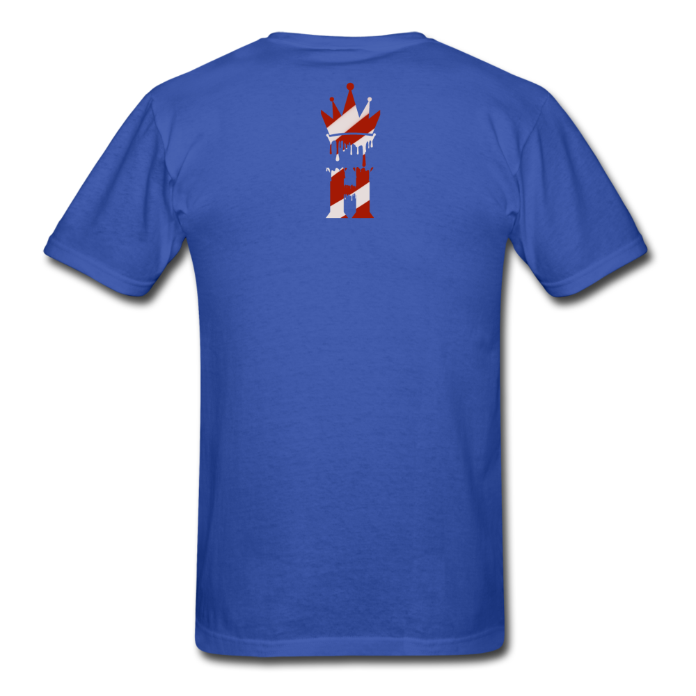 HK Christmas T-shirt - royal blue
