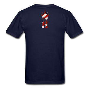 HK Christmas T-shirt - navy