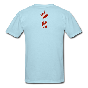 HK Christmas T-shirt - powder blue
