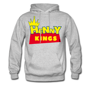 HK Story Hoodie - heather gray
