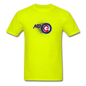 No Cap T-Shirt - safety green