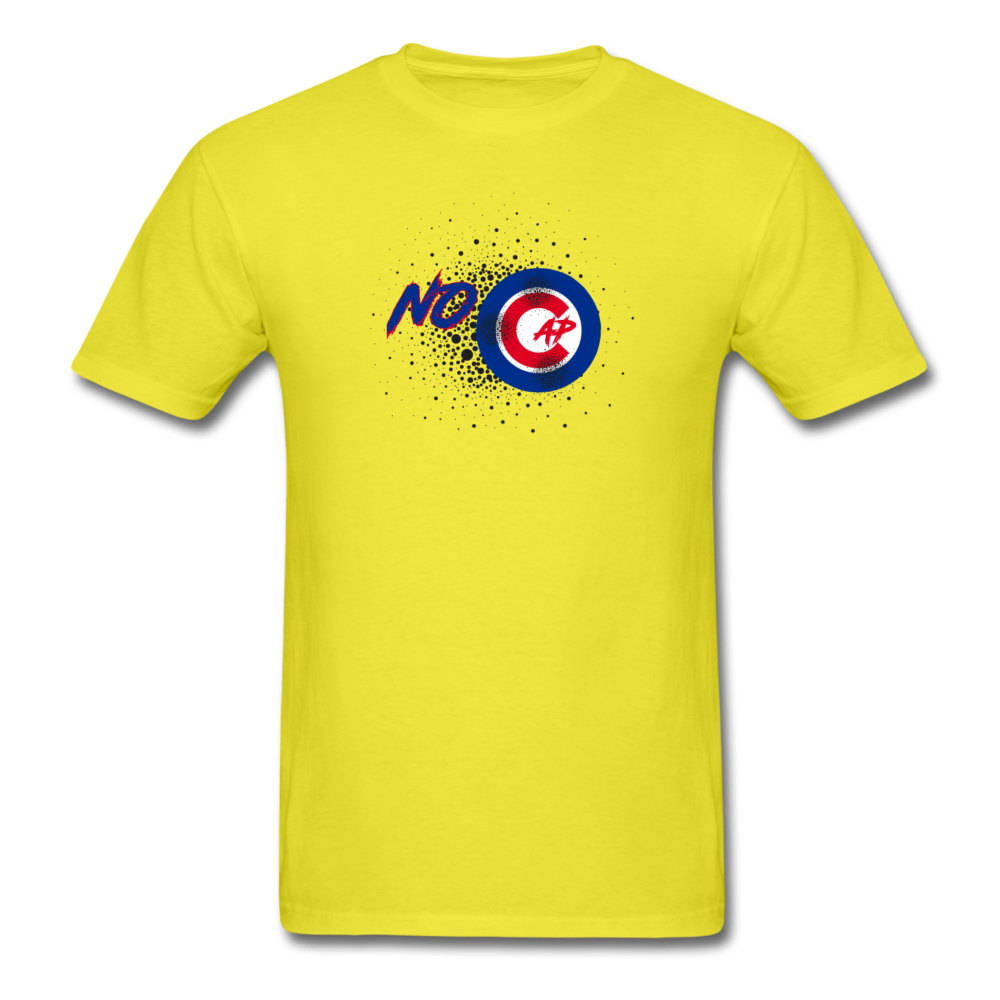 No Cap T-Shirt - yellow