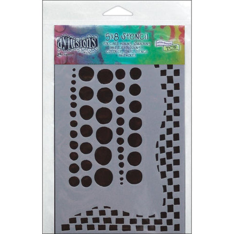 Dylusions Chequered Dots - SMALL