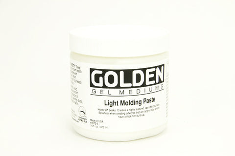 Golden Light Molding Paste 8 oz