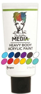 Dina Wakley Media Heavy Body 2oz Acrylic Paints