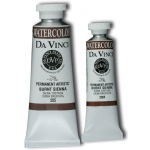 Da Vinci Watercolor 15 ML - Burnt Sienna
