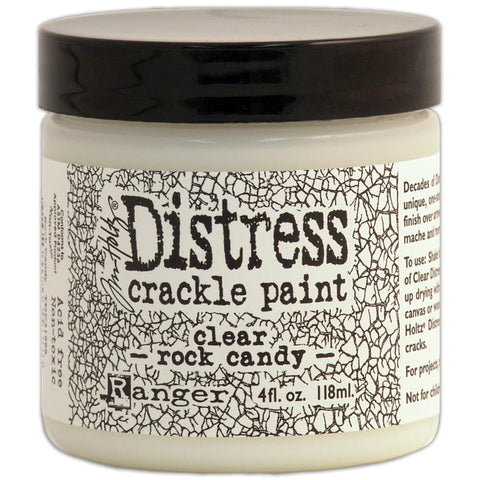 Tim Holtz Crackle Paint - Clear Rock Candy