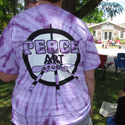 Peace Of Art Logo T-Shirts - Adult (Small, Medium, Large, Extra Large)