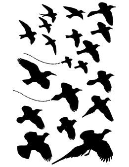 Dina Wakley Birds In Flight Stencil