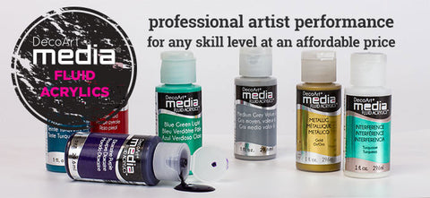 Media Fluid Acrylic Paint 1oz