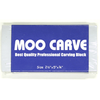 MOO CARVING BLOCK 2.5X5X.75