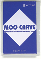 MOO CARVING BLOCK 3X4X.5