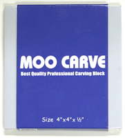 MOO CARVING BLOCK 4X4X.5