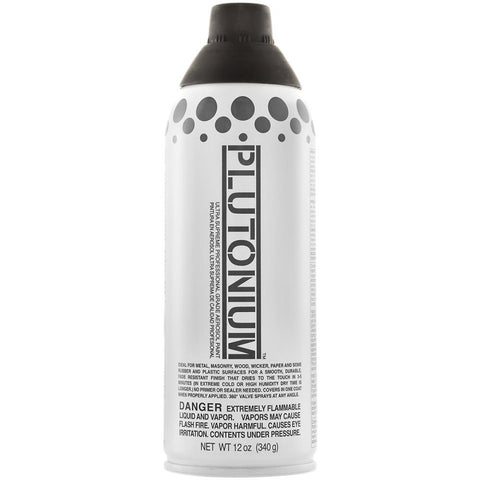 Plutonium Ultra Supreme Professional Aerosol Paint 12oz