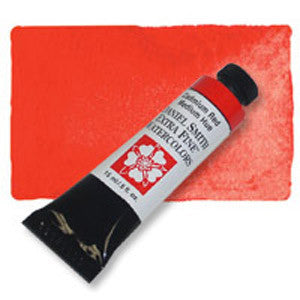 Cadmium Red Medium Hue (PY 53, PR 254) 15ml Tube, DANIEL SMITH Extra Fine Watercolor