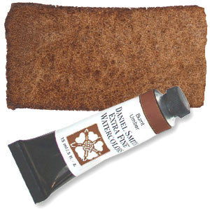Burnt Umber (PBr7)15ml Tube, DANIEL SMITH Extra Fine Watercolor