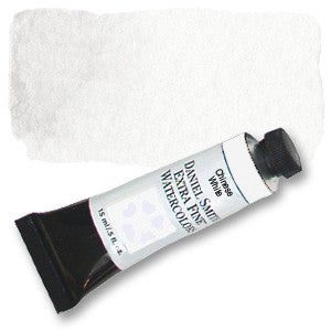 Chinese White (PW4)  15ml Tube, DANIEL SMITH Extra Fine Watercolor