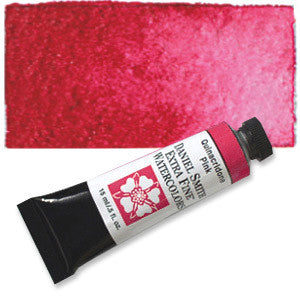 Quinacridone Pink (PV42) 15ml Tube, DANIEL SMITH Extra Fine Watercolor