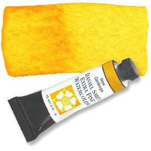 New Gamboge (PY153) 15ml Tube, DANIEL SMITH Extra Fine Watercolor