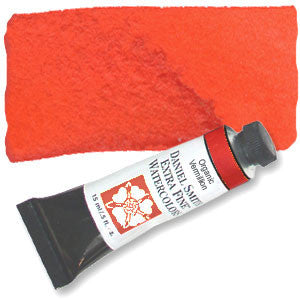 Organic Vermilion (PR188) 15ml Tube, DANIEL SMITH Extra Fine Watercolor