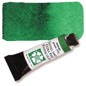 Phthalo Green YS (PG36) 15ml Tube, DANIEL SMITH Extra Fine Watercolor