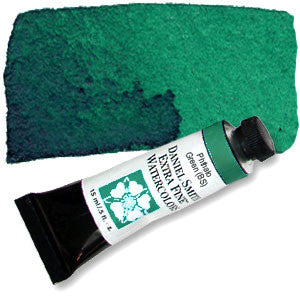 Phthalo Green BS (PG7) 15ml Tube, DANIEL SMITH Extra Fine Watercolor