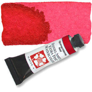 Quinacridone Red (PV19) 15ml Tube, DANIEL SMITH Extra Fine Watercolor