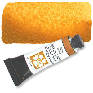 Yellow Ochre (PY43) 15ml Tube, DANIEL SMITH Extra Fine Watercolor