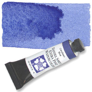 Cerulean Blue Chromium (PB36) 15ml Tube, DANIEL SMITH Extra Fine Watercolor