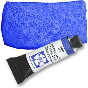 Cobalt Blue (PB28) 15ml Tube, DANIEL SMITH Extra Fine Watercolor