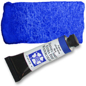 French Ultramarine (PB29) 15ml Tube, DANIEL SMITH Extra Fine Watercolor