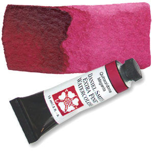 Quinacridone Magenta (PR202) 15ml Tube, DANIEL SMITH Extra Fine Watercolor