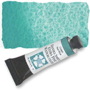 Cobalt Teal Blue (PG50) 15ml Tube, DANIEL SMITH Extra Fine Watercolor