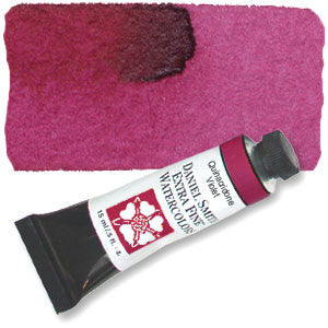 Quinacridone Violet (PV19) 15ml Tube, DANIEL SMITH Extra Fine Watercolor