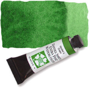 Hooker's Green (PG36 PY3 PO49) 15ml Tube, DANIEL SMITH Extra Fine Watercolor