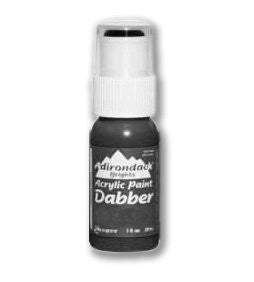 Adirondack Pitch Black Acrylic Paint Dabber 1oz