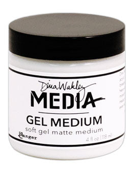 Dina Wakley Gel Medium - Matte 4 oz