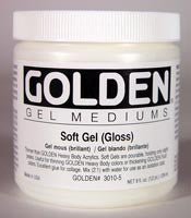 Golden Soft Gel (Gloss) 8 oz jar