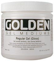 Golden Regular Gel (Matte) 8 oz