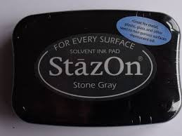 StazOn Ink Pad - Stone Gray
